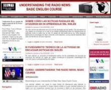 Understanding the radio news